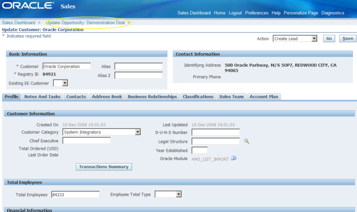 Reseller page called from flexfield button add
