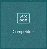 Oracle Sales Cloud Competitors springboard icon (Redwood theme)